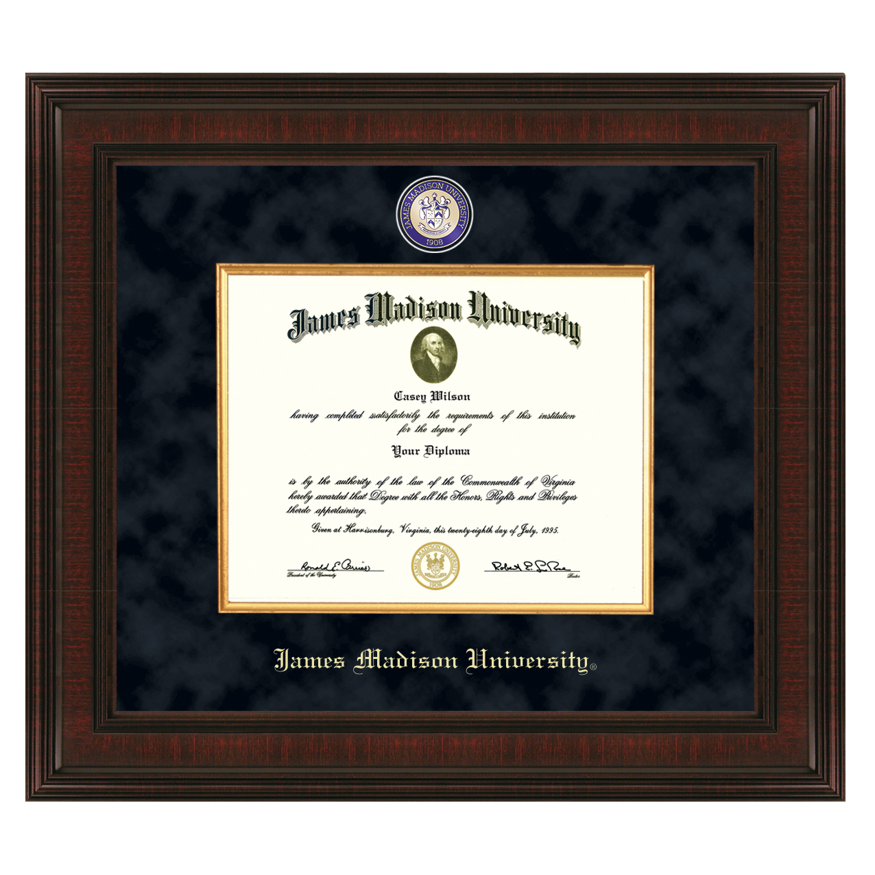 James Madison Excelsior Frame