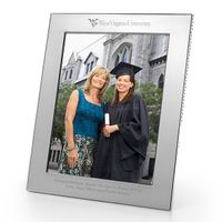 West Virginia University Polished Pewter 8x10 Picture Frame