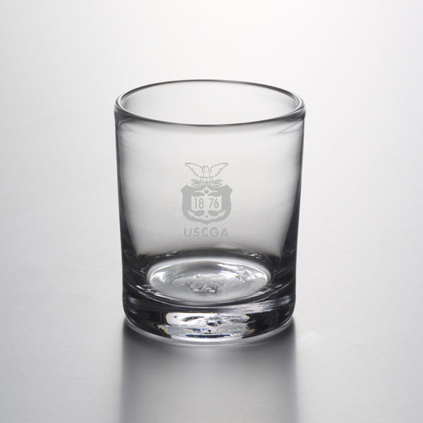 USCGA Double Old Fashioned Glass by Simon Pearce