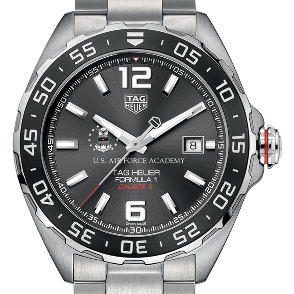 USAFA Men's TAG Heuer Formula 1 with Anthracite Dial & Bezel - Image 1