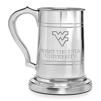 West Virginia University Pewter Stein