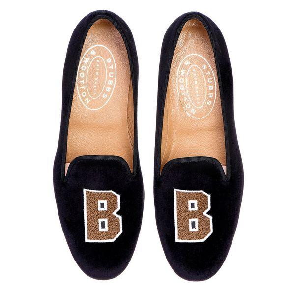 Brown Stubbs & Wootton Women's Slipper