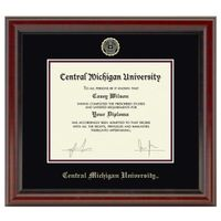 Central Michigan Diploma Frame, the Fidelitas