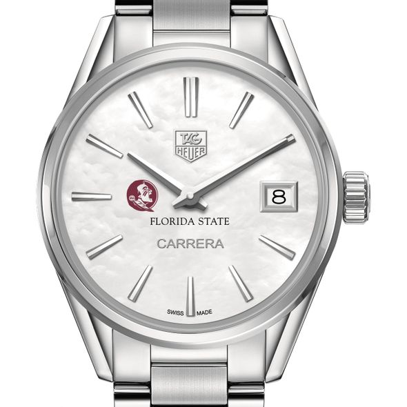 Florida State Women's TAG Heuer Steel Carrera with MOP Dial