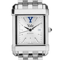 Yale Men's Collegiate Watch w/ Bracelet