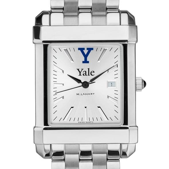 Yale Men's Collegiate Watch w/ Bracelet