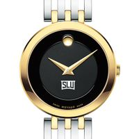 Saint Louis University Women's Movado Esparanza Two-Tone Museum with Bracelet