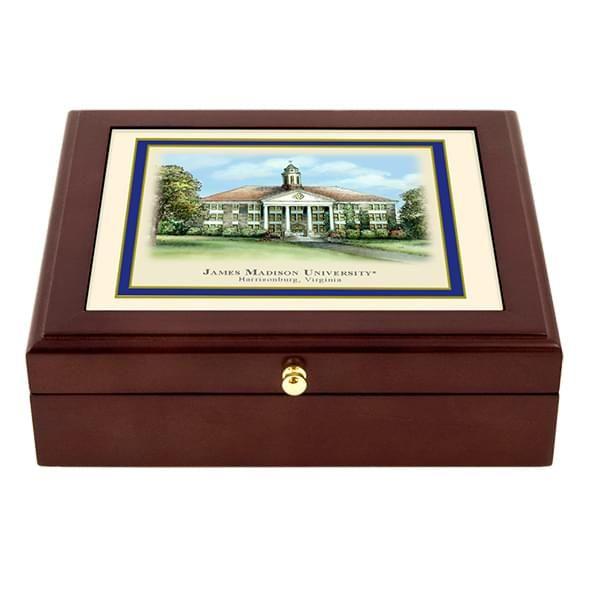 James Madison Eglomise Desk Box