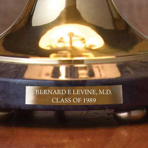 University of Iowa Lamp in Brass & Marble - Image 3