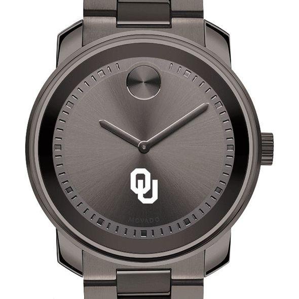 University of Oklahoma Men's Movado BOLD Gunmetal Grey