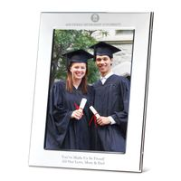 SMU Polished Pewter 5x7 Picture Frame