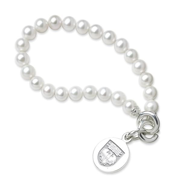 Chicago Pearl Bracelet with Sterling Charm