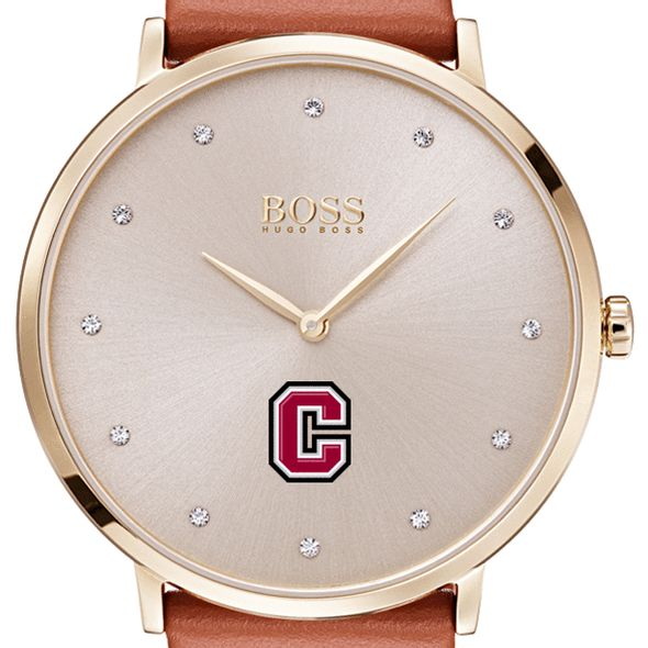 Colgate University Women's BOSS Champagne with Leather from M.LaHart