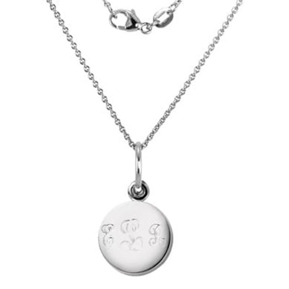 Sterling Silver Necklace with Sterling Silver Charm