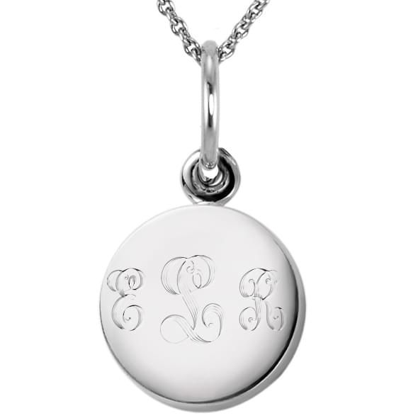 Sterling Silver Necklace with Sterling Silver Charm - Image 2