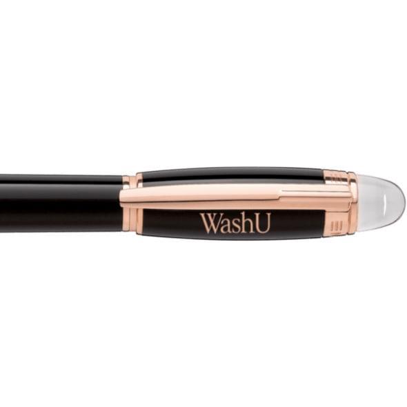 WUSTL Montblanc StarWalker Fineliner Pen in Red Gold - Image 2
