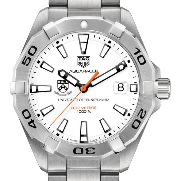 University of Pennsylvania Men's TAG Heuer Steel Aquaracer
