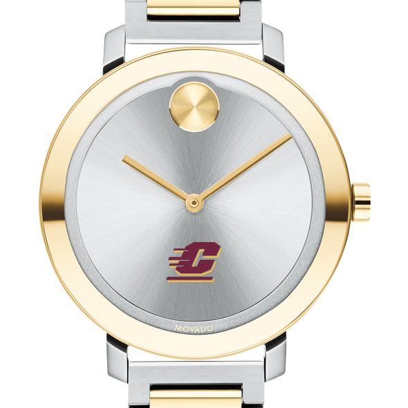 Central Michigan University Women's Movado Two-Tone Bold 34 - Image 1