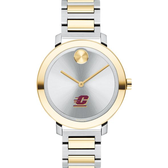 Central Michigan University Women's Movado Two-Tone Bold 34 - Image 2