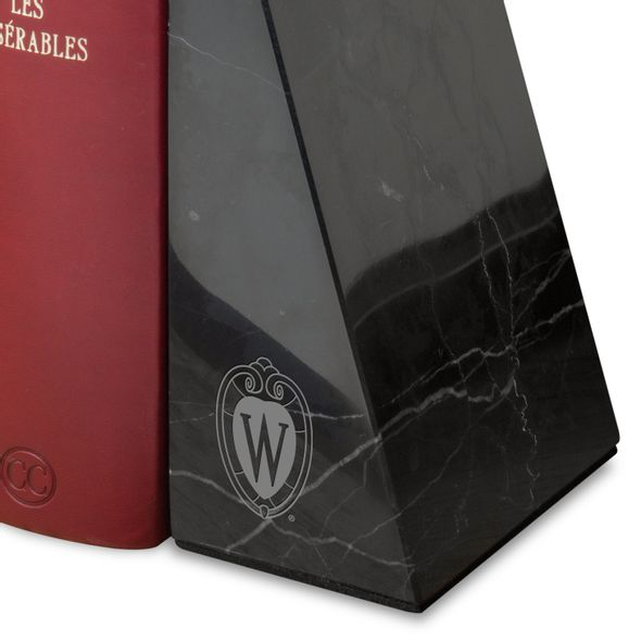 University of Wisconsin Marble Bookends by M.LaHart - Image 2