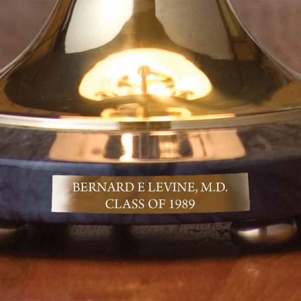 University of Kentucky Lamp in Brass & Marble - Image 3