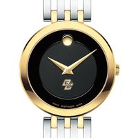 Boston College Women's Movado Esparanza Two-Tone Museum with Bracelet