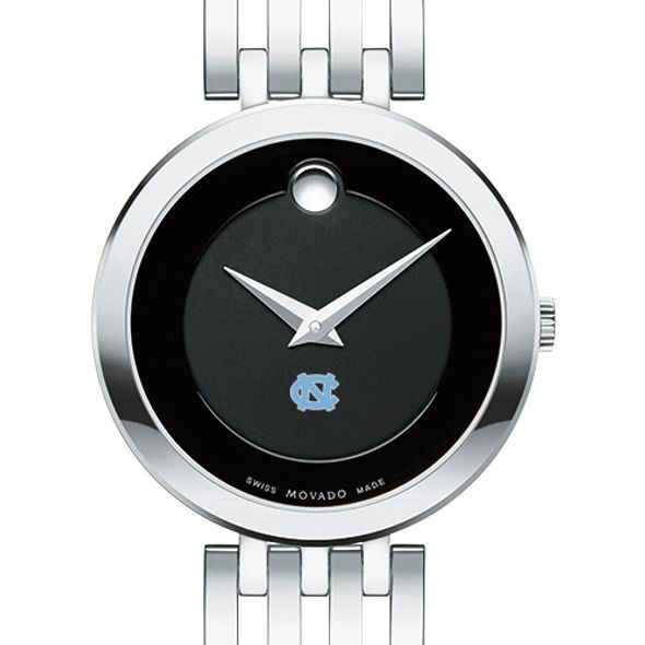 University of North Carolina Women's Movado Esparanza Stainless Steel Museum with Bracelet