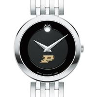 Purdue University Women's Movado Esparanza Stainless Steel Museum with Bracelet
