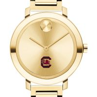 University of South Carolina Women's Movado Gold Bold 34