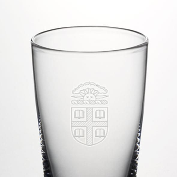 Brown Pint Glass by Simon Pearce - Image 2