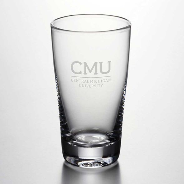 Central Michigan Ascutney Pint Glass by Simon Pearce