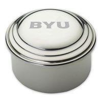 Brigham Young University Pewter Keepsake Box