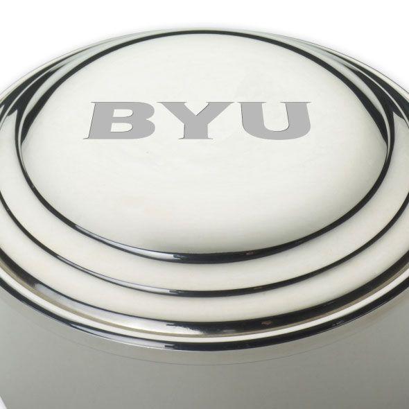 Brigham Young University Pewter Keepsake Box - Image 2