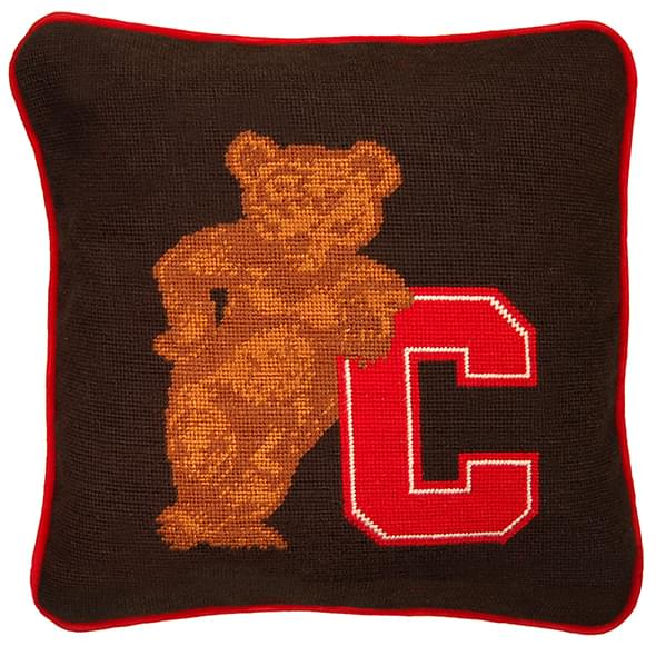 Cornell Handstitched Pillow - Image 2