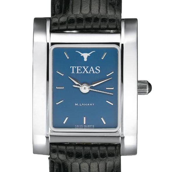 Texas Women's Blue Quad Watch with Leather Strap