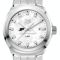 Purdue University TAG Heuer Diamond Dial LINK for Women