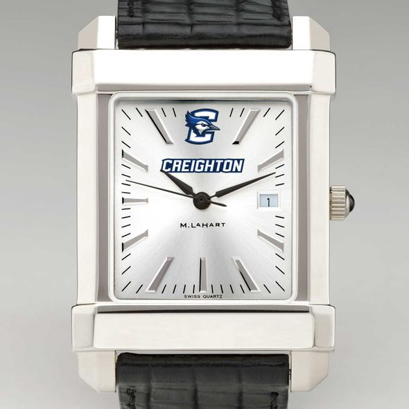 Creighton Men's Collegiate Watch with Leather Strap