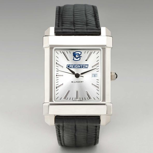 Creighton Men's Collegiate Watch with Leather Strap - Image 2