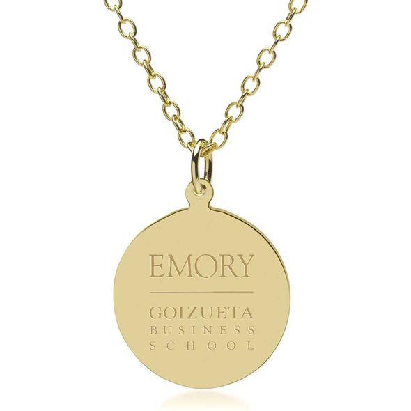 Emory Goizueta 14K Gold Pendant & Chain