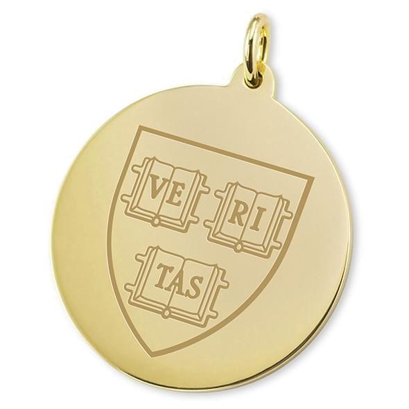 Harvard 18K Gold Charm - Image 2