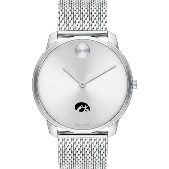 University of Iowa Men's Movado Stainless Bold 42 - Image 2