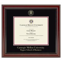 Tepper Diploma Frame, the Fidelitas