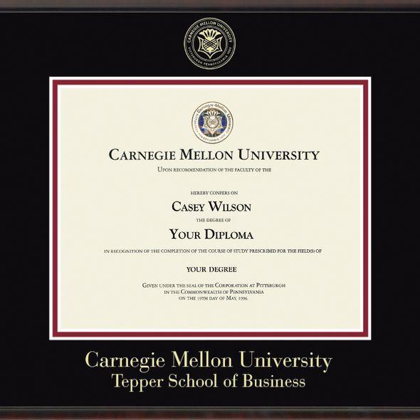 Tepper Diploma Frame, the Fidelitas - Image 2