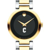 College of Charleston Women's Movado Two-Tone Modern Classic Museum with Bracelet