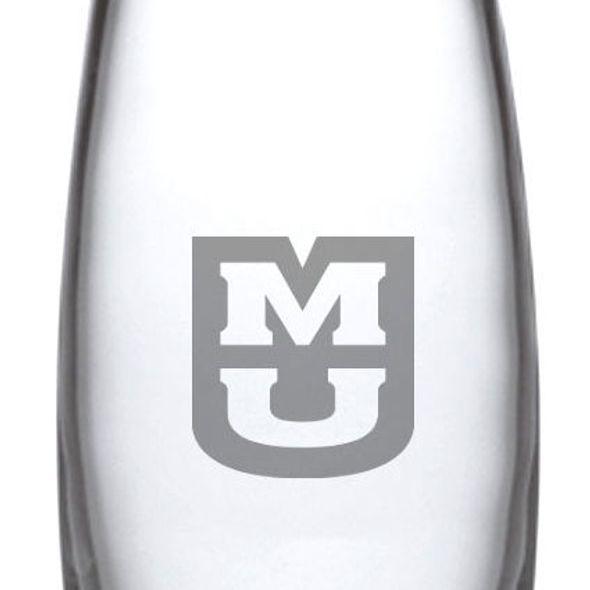 University of Missouri Glass Addison Vase by Simon Pearce - Image 2