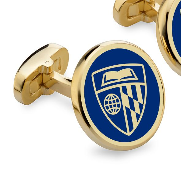 Johns Hopkins Enamel Cufflinks - Image 2
