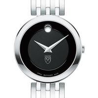 Emory University Women's Movado Esparanza Stainless Steel Museum with Bracelet