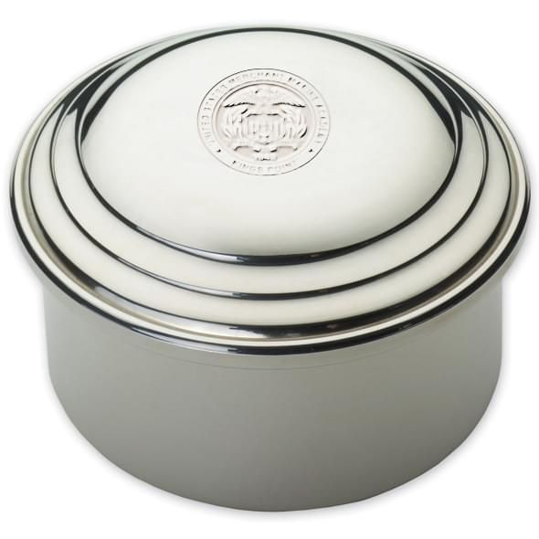 Merchant Marine Academy Pewter Keepsake Box - Image 2