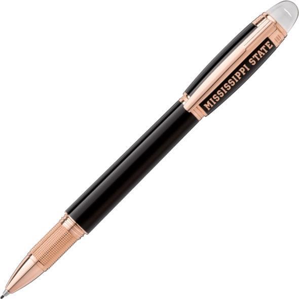 Mississippi State Montblanc StarWalker Fineliner Pen in Red Gold