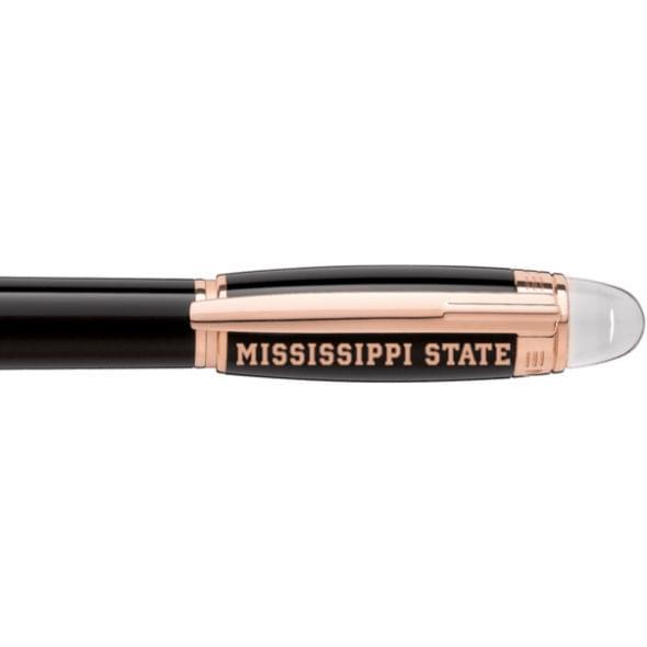Mississippi State Montblanc StarWalker Fineliner Pen in Red Gold - Image 2
